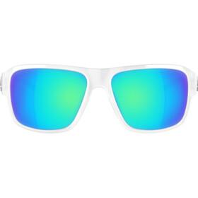 adidas Jaysor Okulary rowerowe niebieski/przezroczysty